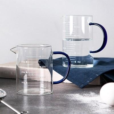 내열유리 손잡이 계량컵 커피저그 (이유식계량컵)