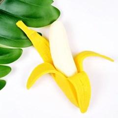바나나 말랑이 스퀴시-주물럭,촉감놀이,스트레스해소
