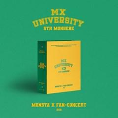 몬스타엑스(MONSTA X) 2021 FAN-CONCERT [MX UNIVERSITY] DVD