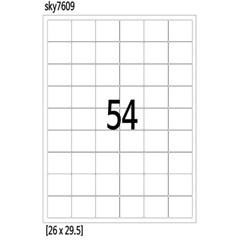 A4 전지 54칸 라벨지 26x29 100매 주소 전산