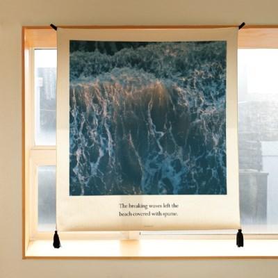 포토 행잉 패브릭 포스터 / 가리개 커튼_spume 02