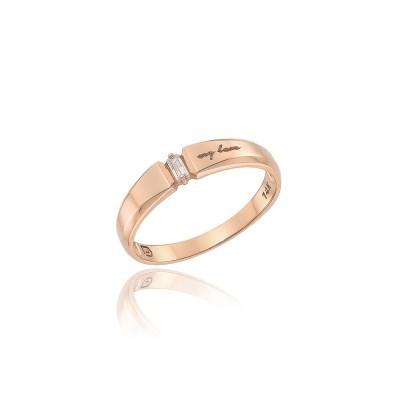 로이드 바게트스톤 14K GOLD 여성 커플링 LRW21049G