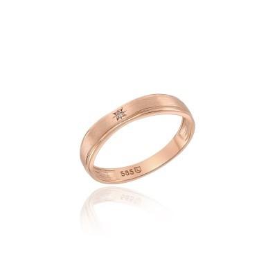 로이드 스타스톤 무광 14K GOLD 여성 커플링 LRW21048G