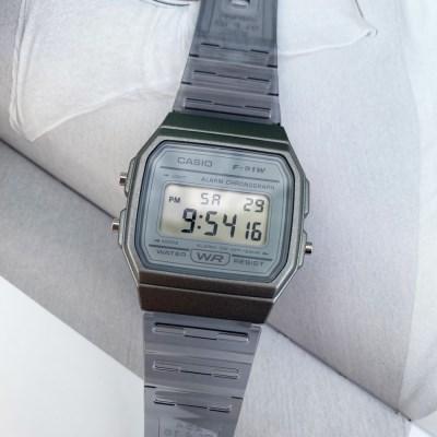 [카시오정품] 투명 우레탄밴드 전자 손목시계_(4color)