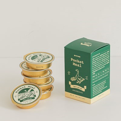바잇미 포켓밀 - 오리 (30g*6개입)
