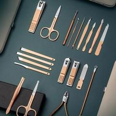 파운드 네일 손톱 케어 도구 세트 (케이스 포함)