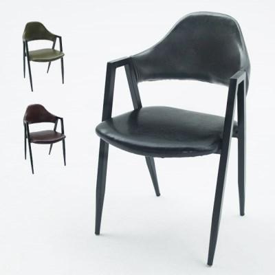 인테리어 싱글 의자 1인 체어 (3colors)