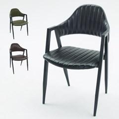 빈티지 철제 카페 의자 (3colors)