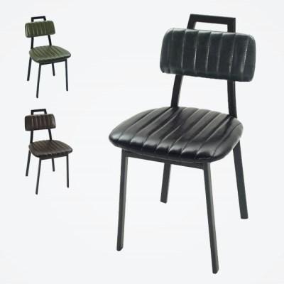 1인용 엔틱 디자인 H 의자 (3colors)