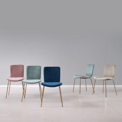 인테리어 1인 싱글 낮은 의자 (4colors)