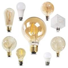 LED 디자인 전구 모음 벌브 에디슨 인찌구