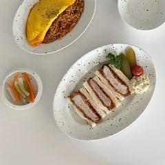 [폴라앳홈] 얼반시리즈 (얼飯) 타원 메인 플레이트