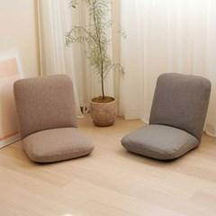 이찌라쿠 집콕 홈 카페 각도조절 바닥 등받이 의자 좌식쇼파