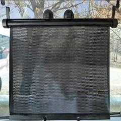 자동차 햇빛가림막 원터치 롤스크린 햇빛가리개 2개