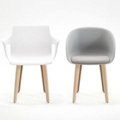 로안체어 국내생산 편한 플라스틱 인테리어 책상 의자_(1211354)