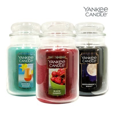 Yankee candle 라지자 623g 향초 캔들 인기향 모음