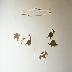 아이방 꾸미기 인테리어 공룡 우드모빌