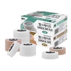 헬스메이트 서지칼 테이프 종이 반창고 (백색 살색)