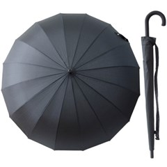A1634 블랙 심플 장우산