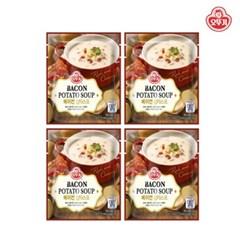 [오뚜기] 베이컨 감자 파우치 스프 (270g) x 4
