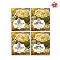 [오뚜기] 콘 크림 파우치 스프 (270g) x 4