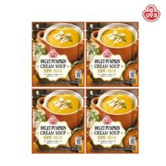 [오뚜기] 단호박 크림 파우치 스프 (270g) x 4