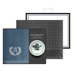 송월 타올시계선물세트(에이스150g 1p + 욕실시계 1p)+쇼핑백