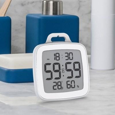 유즈비 발디알 욕실용 온습도시계 타이머