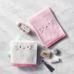 [Hello Kitty] 헬로키티 토끼 세면타올_125g  1매