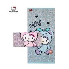 [Hello Kitty] 헬로키티 키티레오파드 세면타올_110g 1매