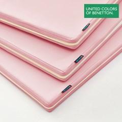 베네통 아기매트 커버 유아 층간소음 핑크 140x200