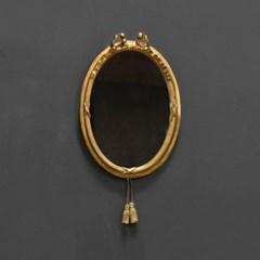 (kkjj160)황금 토끼 미니벽거울(빈티지)_(1729899)