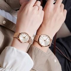[쥴리어스정품] JA-1265 커플시계/여성시계 남성시계/메쉬밴드