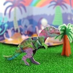 [이부] 공룡 3D 입체퍼즐 티라노사우루스 렉스/ 5세이상 야광