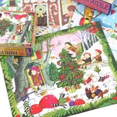 [이부] 숲속의 크리스마스 36피스 미니퍼즐 3세이상