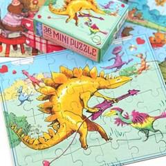 [이부] 공룡밴드 36피스 미니퍼즐 3세이상
