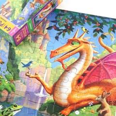 [이부] 드래곤 64피스 퍼즐 5세이상