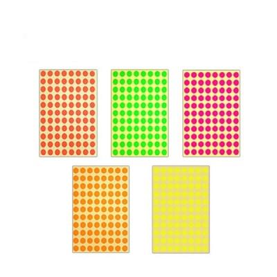 [블루마토]  스티커4-A, (원) (1장-원스티커 88개)/ (10P)