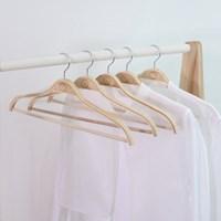벤트우드 논슬립 원목 옷걸이 20P세트