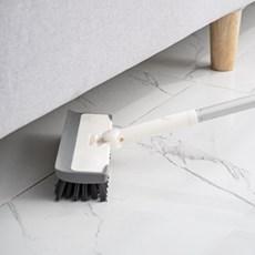 [ABC생활] 360도 2in1 다용도 브러쉬 밀대 솔 욕실 타일 바닥청소