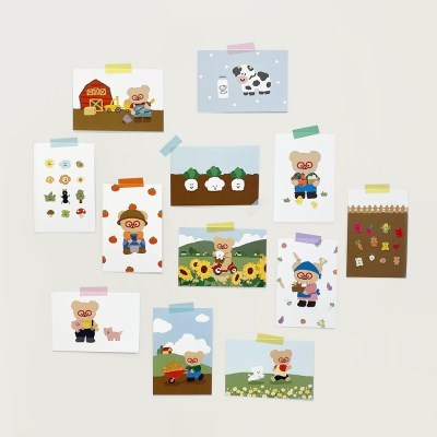 TINY FOREST POSTCARDS