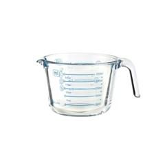아이락 수퍼오븐글라스 내열유리 멀티 계량컵 블루 250ml