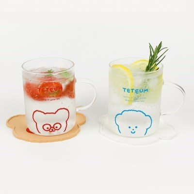 LINE GLASS CUP