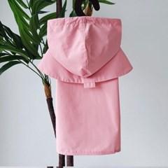 트렌치 레인 코트 핑크(M103)