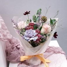 [무배] 꾸까 kukka 성수의 빈티지 무드, 성수바이브 꽃다발