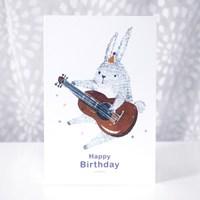 생일축하 카드-Happy Bunny