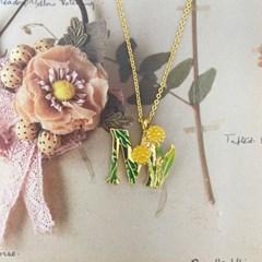 [ 올리아 ] 유럽 패션피플이 사랑하는 올리아 알파벳 목걸이 M