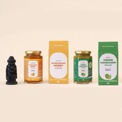 스마일인제주 한라봉 꿀청/청풋귤 꿀청 제주산100%