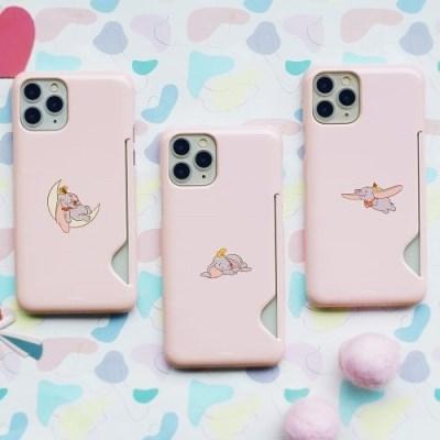 [디즈니정품] 덤보 핑크 유광 카드슬림핏