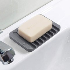욕실 물빠짐 비누 받침대 드라잉 실리콘트레이 3개